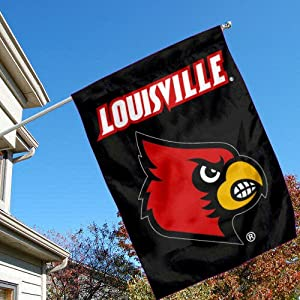 Buy Louisville Cardinals Banner House Flag by College Flags and Banners Co.