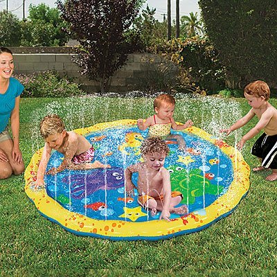 Outdoor Yard Water Park Bouncer Fun Kids Play Home Toy