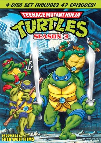 Teenage Mutant Ninja Turtles: Season 3 [DVD] [Import]