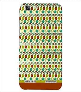 PrintDhaba Pattern D-1619 Back Case Cover for LENOVO LEMON 3 (Multi-Coloured)