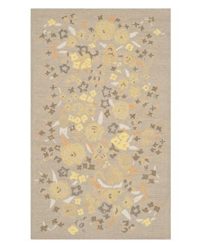 Safavieh Martha Stewart Watercolor Garden Rug, Nutshell, 3' 9 x 5' 9