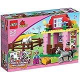Lego Duplo Legoville-thème Ferme - 10500 - Jeu De Construction - L'écurie
