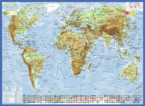 13096 - Politische Weltkarte