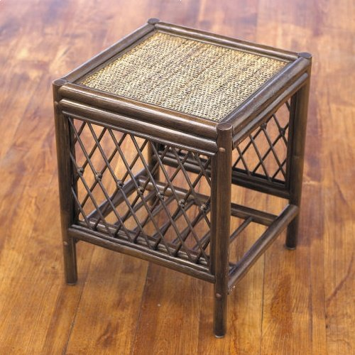 Home & Garden Direct Cadiz Walnut Conservatory Side Table