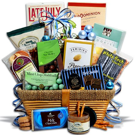 Kosher Hanukkah Gift Basket Premium