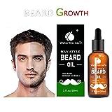 Beard Grow   Facial Hair Supplement   #1 Mens Hair Growth Vitamins   For Thicker and Fuller Beard (Gold)
