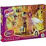 """Schmidt Spiele 56068 - Puzzle glitterato """"Mia e me: Mia nel castello degli elfi"""", 200 pz."""