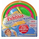 Little Kids Super Fubbles Bubble Wand (Colors May Vary)