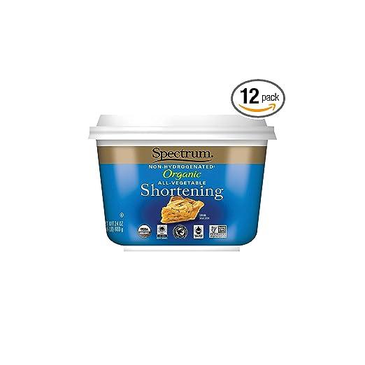 Spectrum Organic All Vegetable Shortening Via Amazon