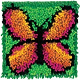 Wonderart 426137 Butterfly Latch Hook Kit 20 x 20cm
