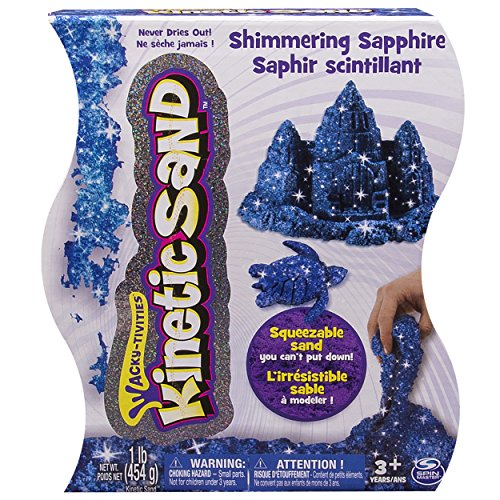Kinetic Sand,  1lb Shimmering Blue Sapphire - 1