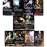 Black Dagger Brotherhood J.R. Ward collection 10 books Pack Set. (Collection - Lover Unleashed, Lover Avenged, Lover Awakened, Lover Mine, Dark Lover, Lover Revealed, Lover Unbound, Lover Enshrined, Lover Eternal & Lover Reborn) Black Dagger Brotherhood