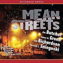 Mean Streets Audiobook by Jim Butcher, Kat Richardson, Simon R. Green