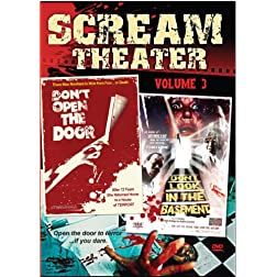 Scream Theater Double Feature VOL 3: Don't Open the Door & Don't Look in the Basement