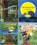 The Chester Books by Audrey Penn: Chester Pack : Chester Raccoon and the Acorn Full of Memories / Chester Raccoon and the Big Bad Bully / The Kissing Hand / A Kiss Goodbye (Kissing Hand Books)