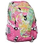 High Sierra Loop Backpack (19 x 13.5 x 8.5-Inch, Pink/Lemon/Butterflies)