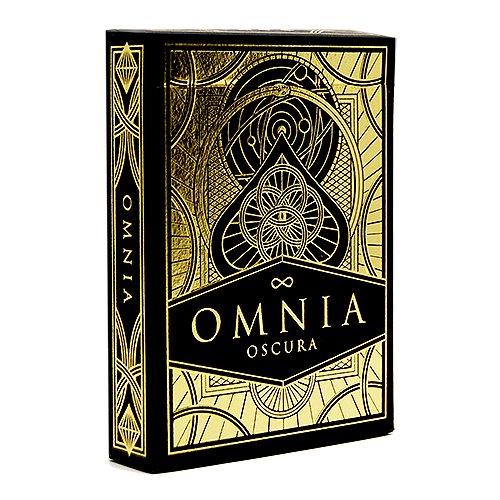 Mazzo di carte Omnia - Oscura - Mazzi di carte da gioco - Giochi di Prestigio e magia