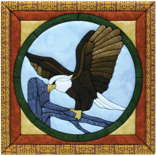 Quilt Magic 12-Inch by 12-Inch Eagle Kit