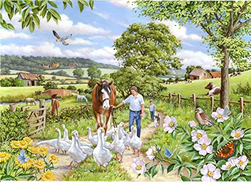 "The House of Puzzles ""Goosey Gander"" Big 250 Piece Jigsaw Puzzle - 1"
