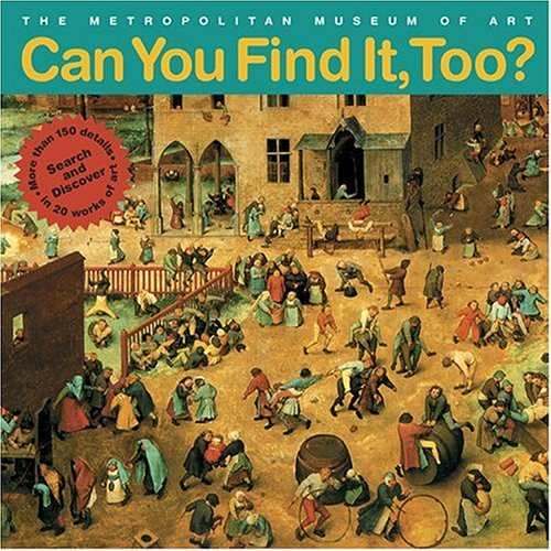 Can You Find It, Too?: Search and Discover More Than 150 Details in 20