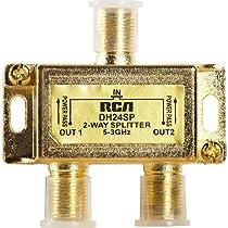 RCA DH24SPF Two Way 3 Ghz Bi-Di Splitter