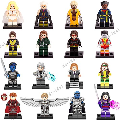 16Pcs MiniFigures Super Heroes Blocks Toys (Custom Marvel Legends compare prices)