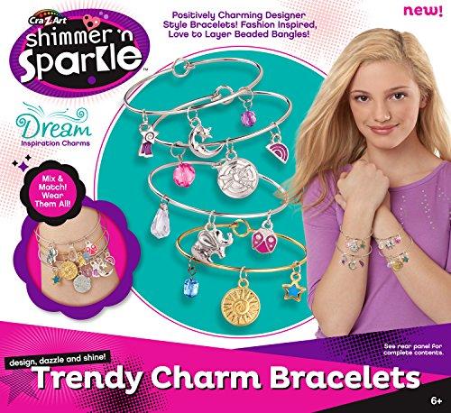 Cra-Z-Art Trendy Charm Bracelets - 1