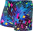 TYR SPORT Men's Disco Inferno All Over Square Leg Swimsuit