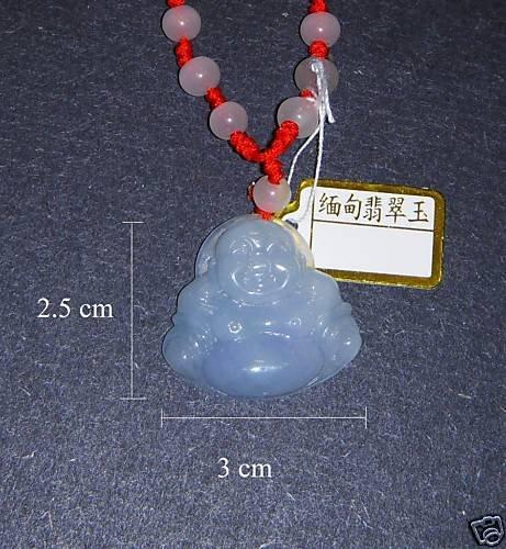 Jewelry - Burma Jadeitite Buddha pendant necklace - 4oz