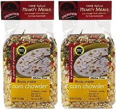 Frontier Soups Hearty Meals Illinois Prairie Corn Chowder 7 oz 2 pk