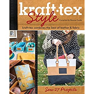 kraft•texTM Style: kraft•tex Combines the Best of Leather & Fabric • Sew 27 Projects