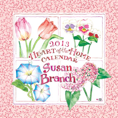 Susan Branch 2013 Mini Wall Calendar