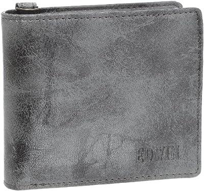 [エドウィン] レトロ合皮 小銭付き2折財布
