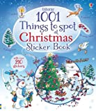Alex Frith 1001 Christmas Things to Spot Sticker Book (1001 Things to Spot Sticker Books)