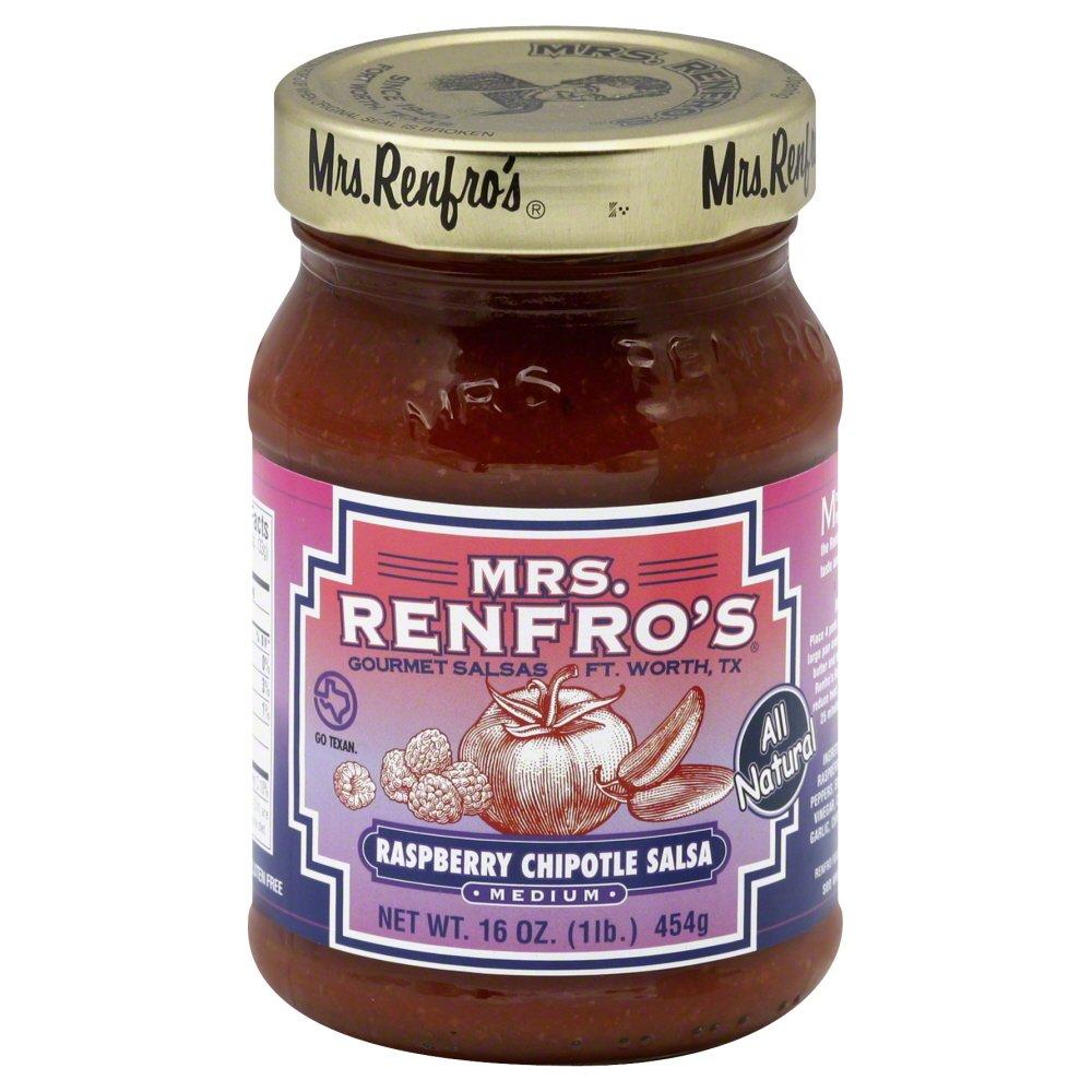 Mrs. Renfro's Medium Heat Raspberry Chipotle Salsa 16 Oz (Pack of 1) mrs dalloway