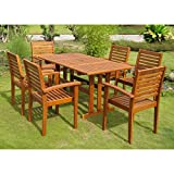 International-Caravan-Royal-Tahiti-Badalona-Patio-Dining-Set