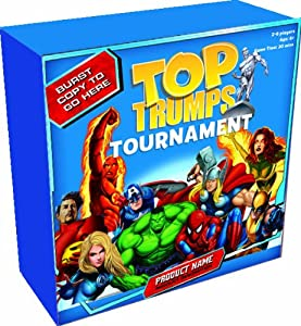 Top Trumps Marvel Tournament