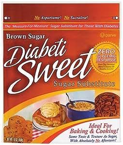 Diabetisweet Sugar Substitute Brown Sugar 16