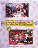 img - for Group Solutions, Too: More Cooperative Logic Activities for Grades K-4 (Teacher's Guide) book / textbook / text book