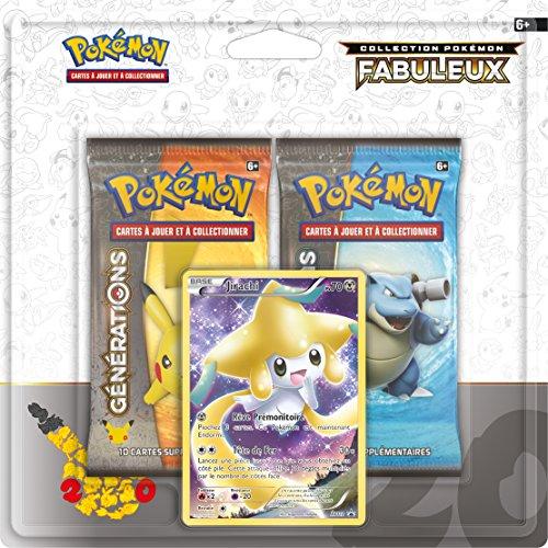 Asmodee - 2PACK2002 - A l'occasion des 20 ans de Pokémon - Modèle aléatoire