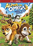 Alpha and Omega 3: The Great Wolf Games [DVD + Digital]