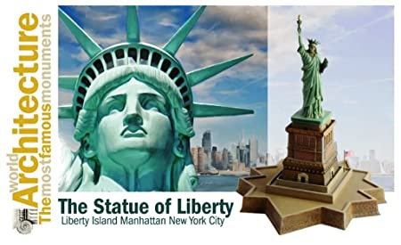 Maquette architecture du monde : Statue de la Liberté