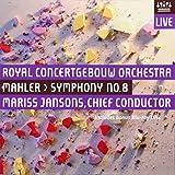 マーラー : 交響曲 第8番 変ホ長調 「千人の交響曲」 (Mahler : Symphony No. 8 / Mariss Jansons , Royal Concertgebouw Orchestra) [SACD Hybrid + Blu-ray] [輸入盤]