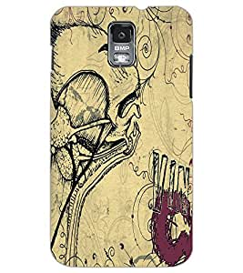 SAMSUNG GALAXY S5 SKETCH Back Cover by PRINTSWAG