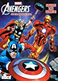 """Marvel the Mighty Avengers Coloring Book """"Saving the World!"""" Big Fun Book to Color"""