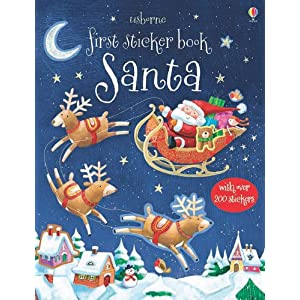 Usborne First Sticker Book: Santa