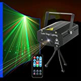 Party lights Strobe Stage Lights Disco DJ Lights Sound Activated with Remote Control great for Karaoke KTV Club Parties Wedding Bar Christmas Festivals (Color: party lights)