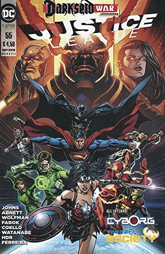 Justice league: 55