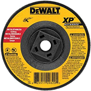 DEWALT DW8858H XP Cutting Wheel, 5/8-11 Arbor, 5-Inch by 0.045-Inch