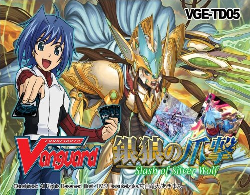 Cardfight Vanguard Cards - Trial Deck - SLASH OF SILVER WOLF (English Edition)
